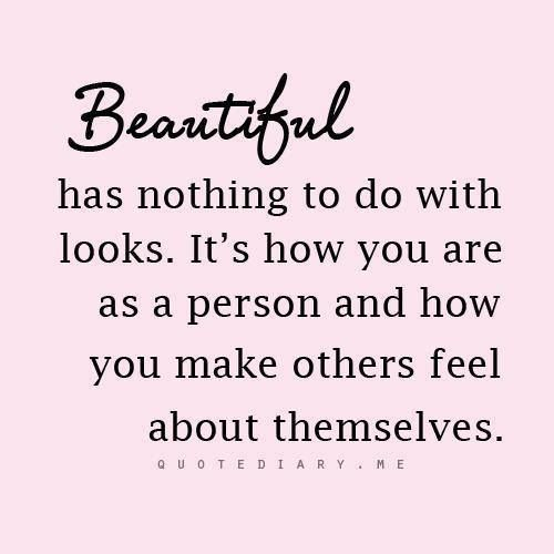 Quote About True Beauty Inner Beauty Quotes Words Quotes