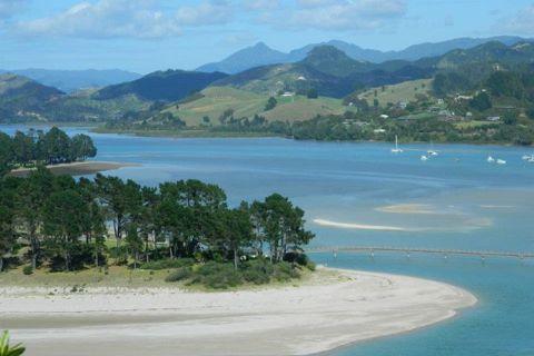 Pauanui, una favolosa spiaggia