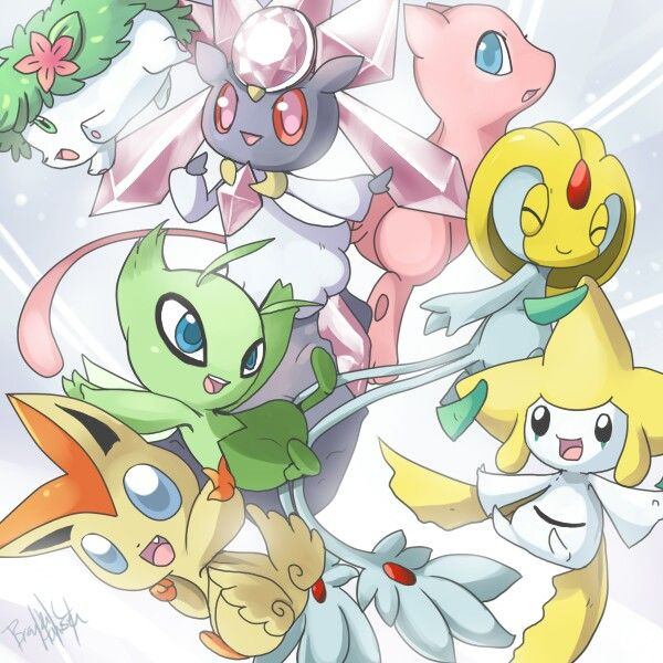 Cute legendaries...