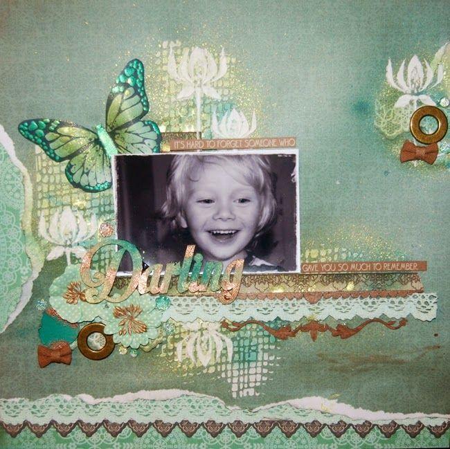 """Darling"" by Stina Westbom - C'est Magnifique March 2015 Kit"