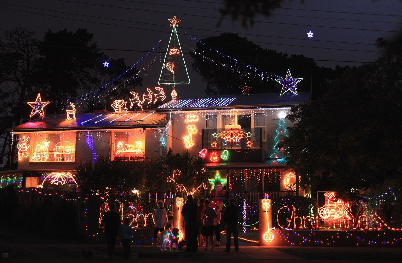 spectacular christmas lights show homes   FREE Christmas Light ...