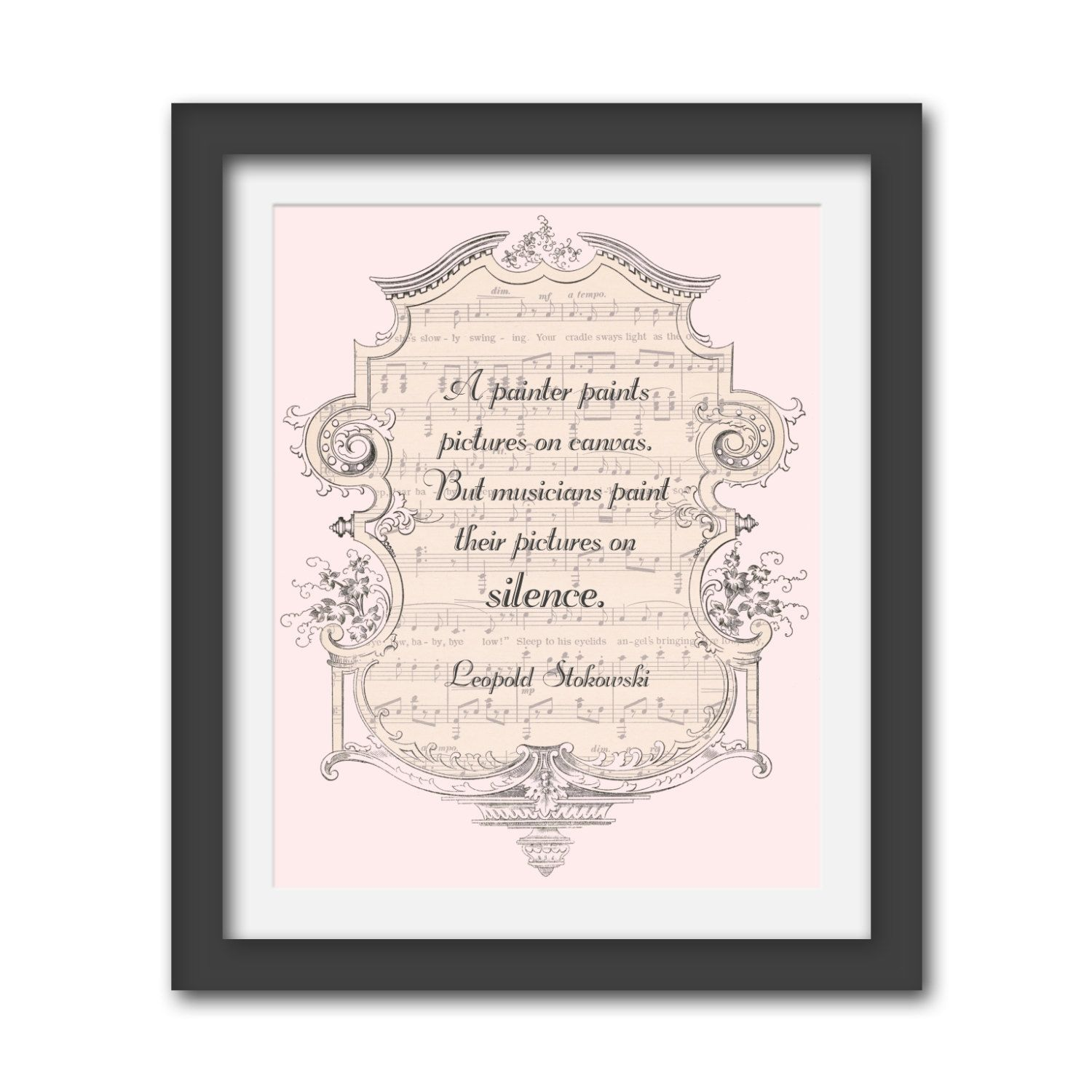 Framed Typography Print Musicians Inspirational By Wordsexpressart Art Quotes Inspirational Typography Prints Typography Art