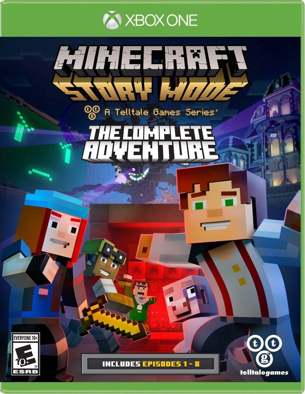Minecraft Story Mode Nintendo switch games, Nintendo