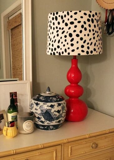 Bring new life to an old lamp with a brand new shade buy one or how to cover a lampshade in fabric aloadofball Gallery
