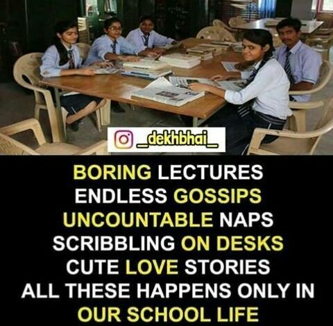 Missing Those Days Yrr School Lyf School Days Quotes