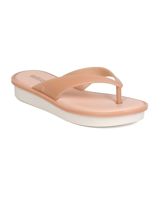 b1acd1a210977 Shoes Melissa New High Ad Women PVC Open Toe Flatform Slip On Thong Sandal