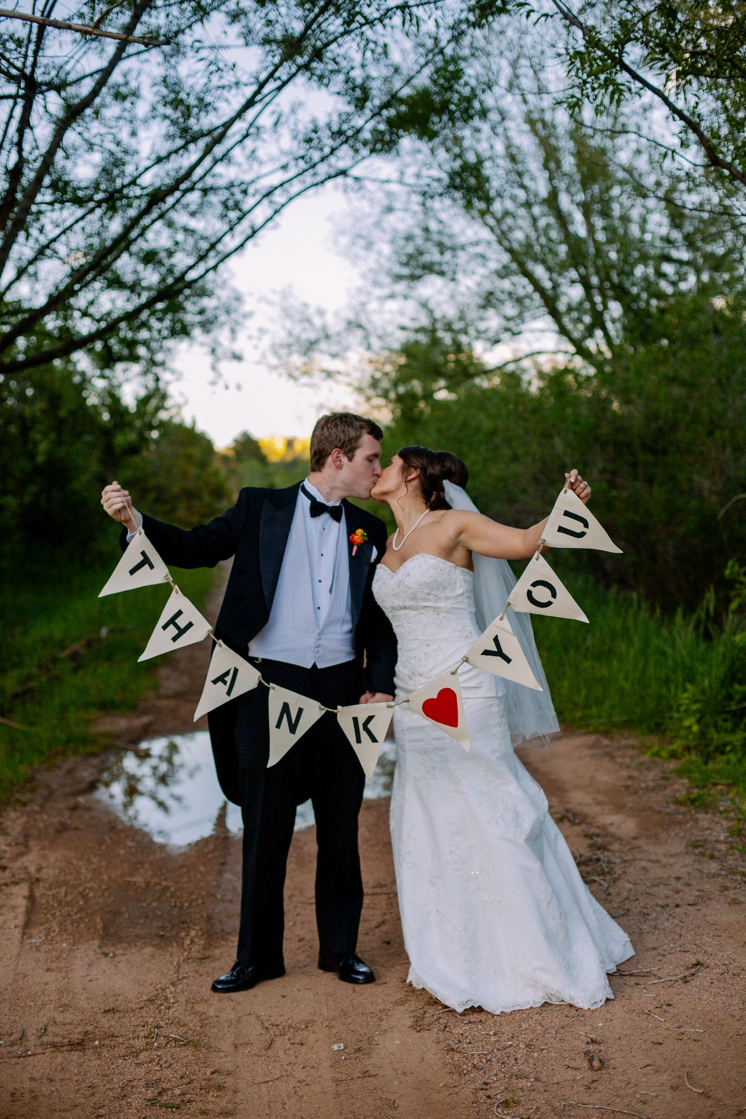 perfect photo for wedding thank you cards bring or make your own