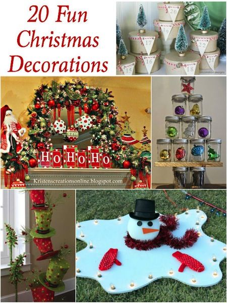 20 fun christmas decorations thrifty ts treasures