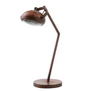 Tischleuchte Techno - Antik Kupfer der Marke Canett, Maße: Breite: 22 cm Höhe : 73 cm Tiefe: 22 cm Ø Lampenschirm: 18