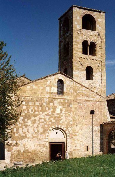 Sovicille (Siena, Italia) - Pieve di San Giovanni Battista a Ponte allo Spino