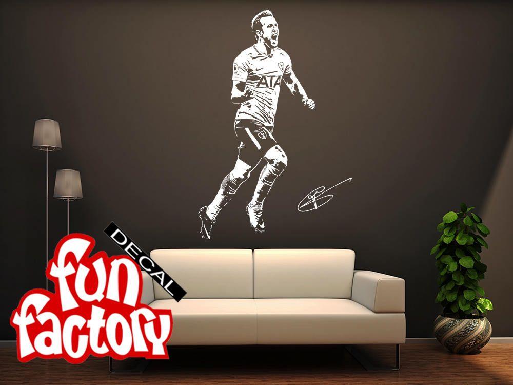 Harry Kane 2017 Wall Decal Sticker FC Tottenham Hotspur ...