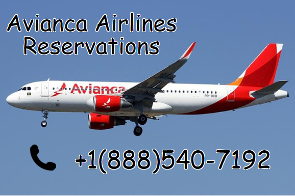Make a call on +1-888-540-7192 to Book your flights with Avianca Airlines Reservations. Find airfare deals for flights to Avianca. Book cheap tickets and check the Avianca flight status if you book with reservationbuy.com