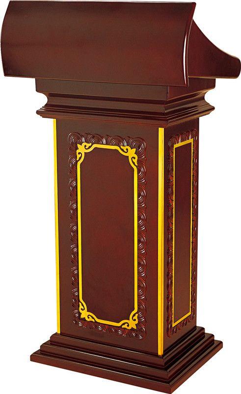 Classic Stand Up Pulpit President Lectern Podium Church Interior Podium Design Lecterns