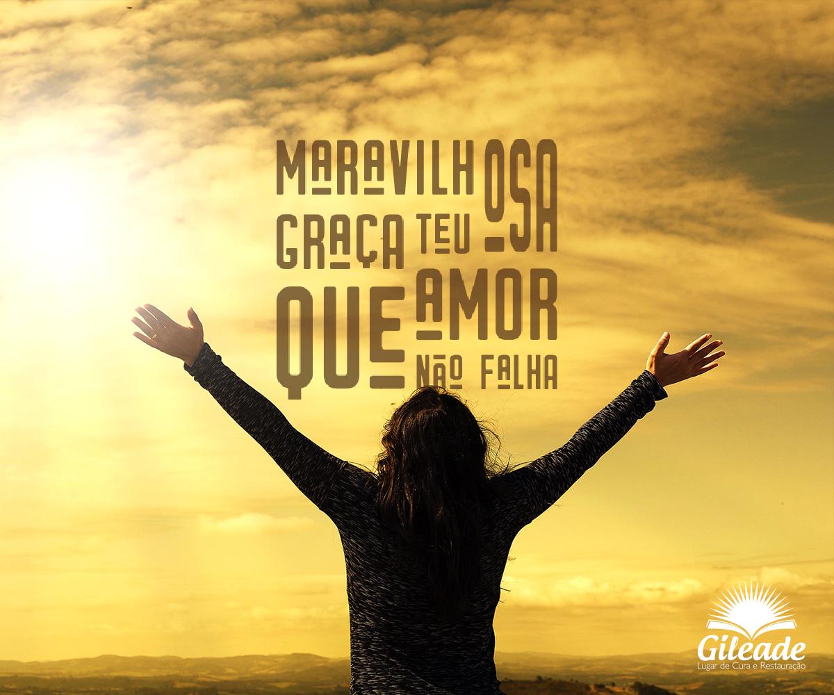 Maravilhosa Graça Frase Cristã Frases Gileade Church Pinterest