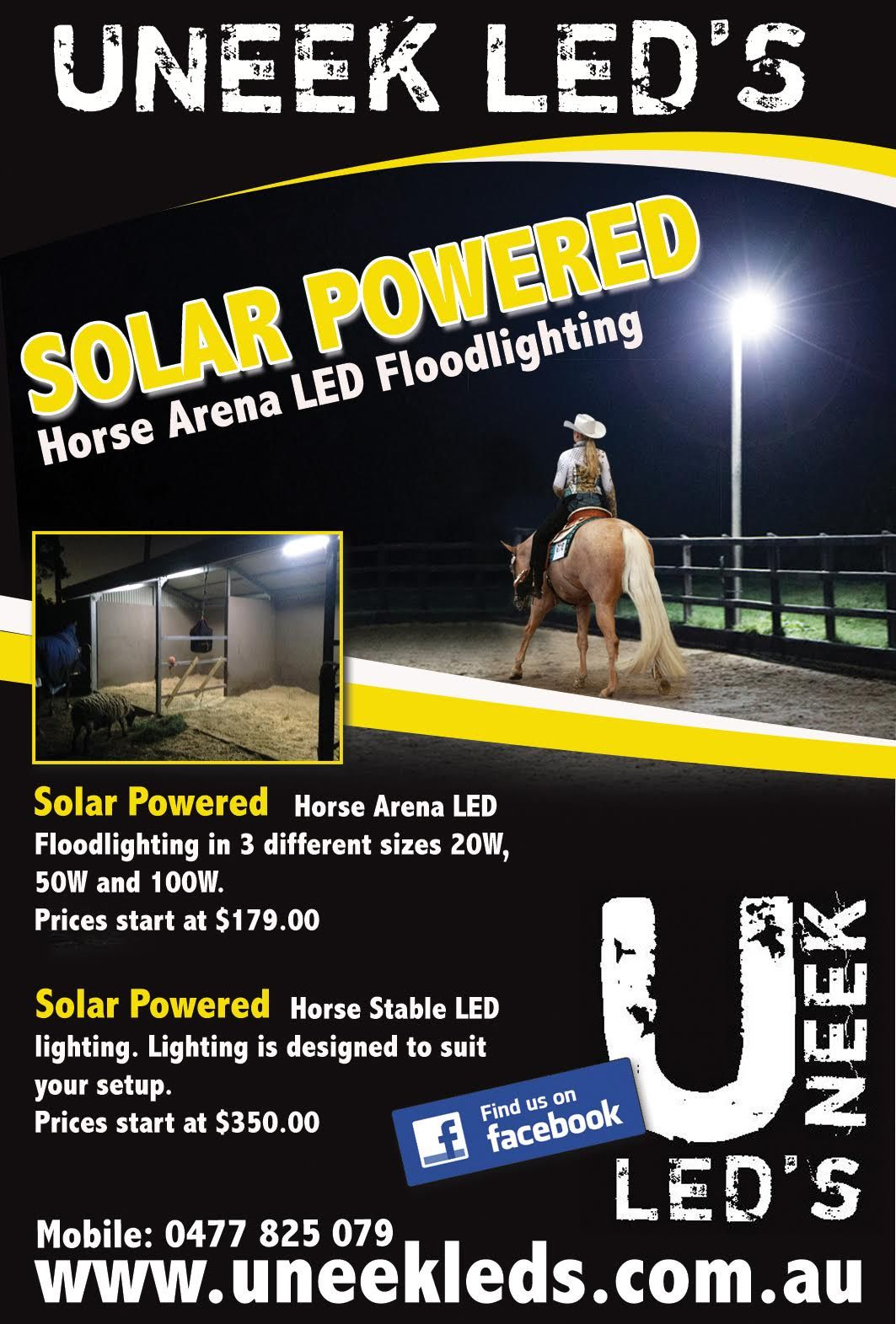 50w Solar Flood Light Is Shown Here In In Picture It Will