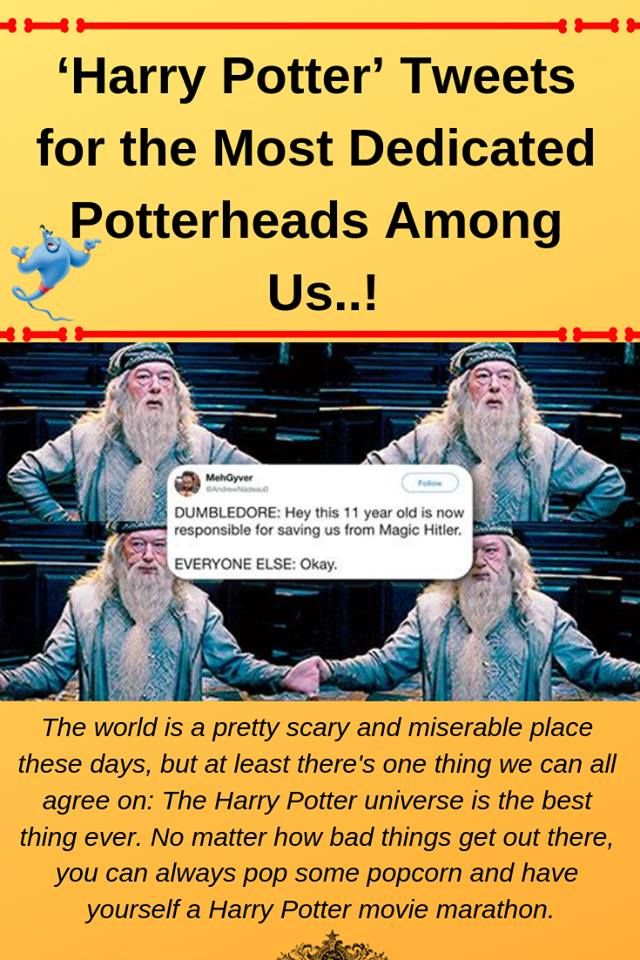 'Harry Potter' Tweets for the Most Dedicated Potterheads