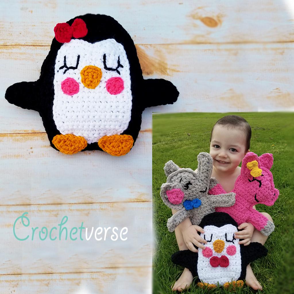 Fast & Free Penguin Ragdoll Crochet Pattern - Crochetverse