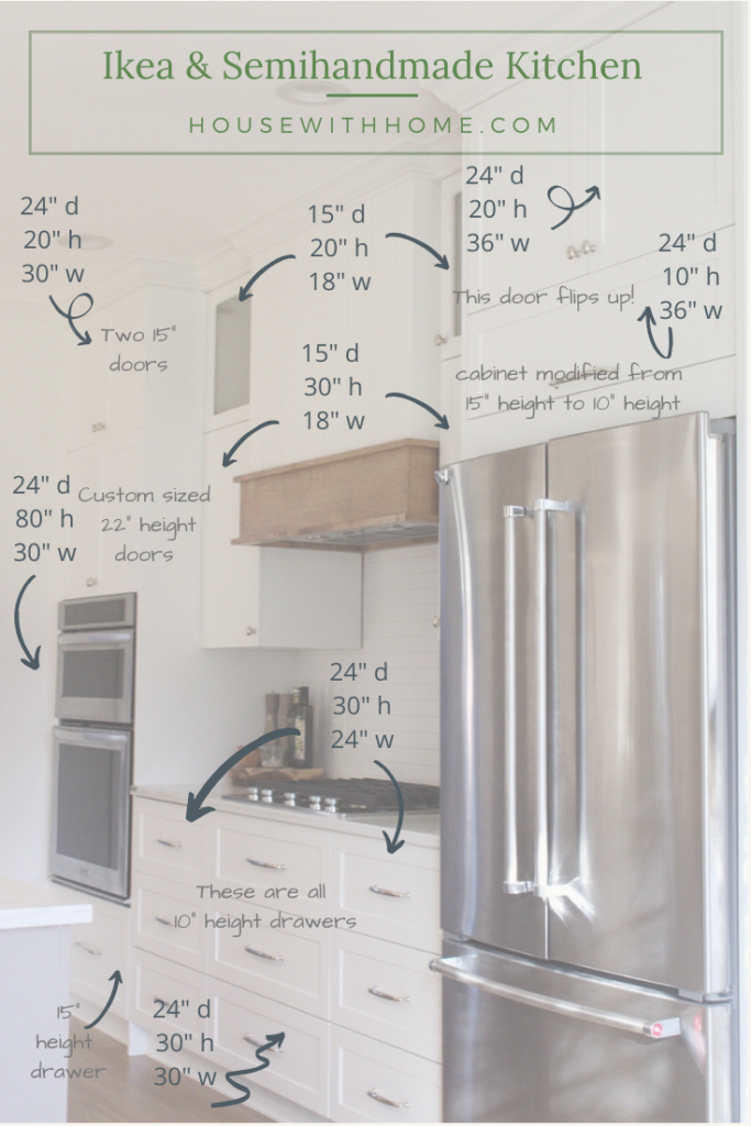 Ikea Kitchen Sizes and Organization House with
