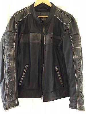 Men's Harley Davidson Leather Jacket - Large https://t.co/aiptIh3xjI https://t.co/R66JClUGR4
