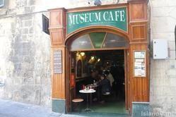 Museum Cafe, Valletta, the capital city of Malta