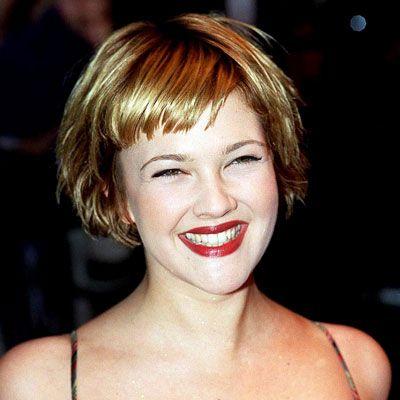 Drew Barrymore S Changing Looks Drew Barrymore Hair Short Hair Styles Trendy Short Hair Styles