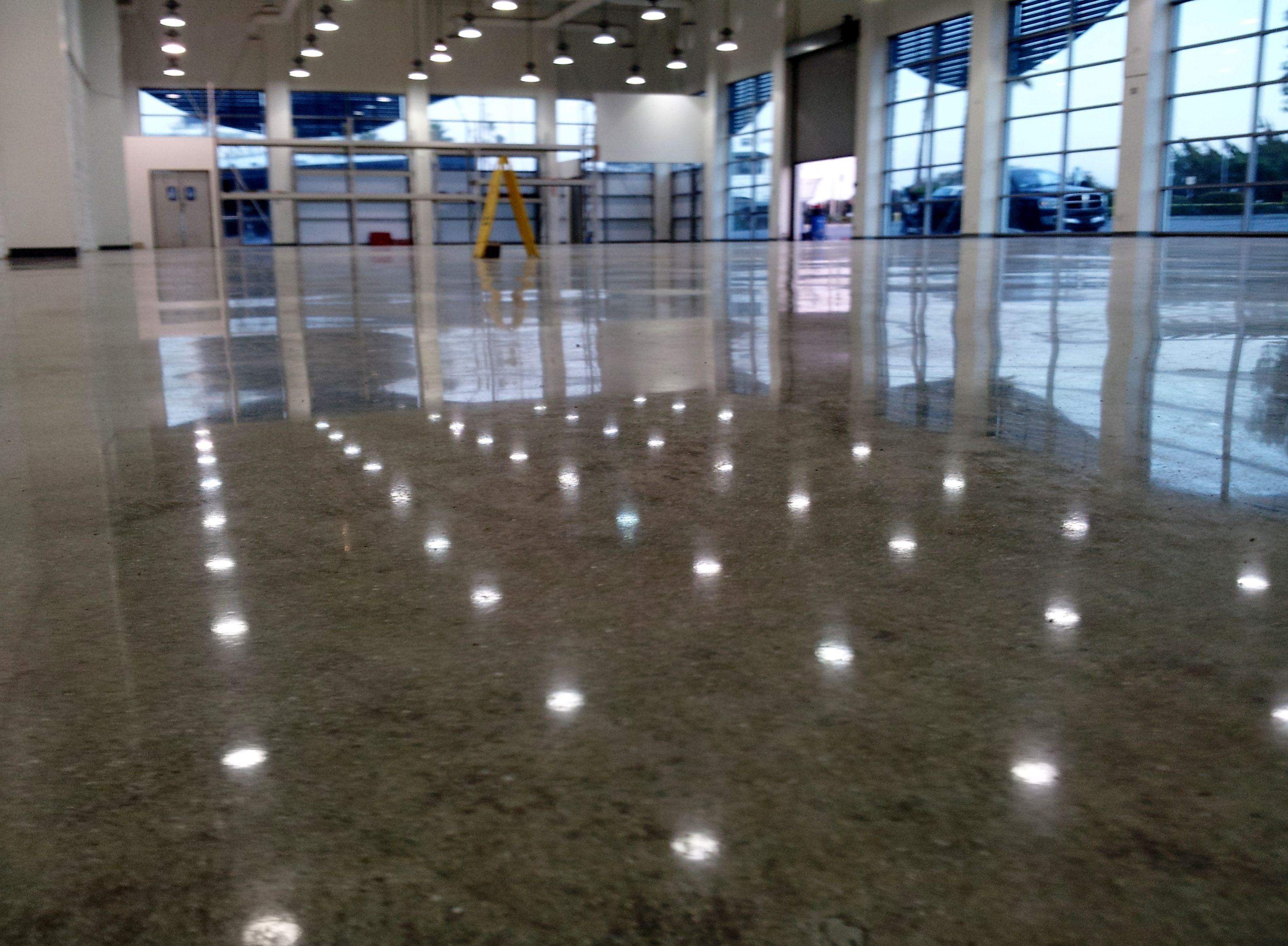 Concrete Floors Polished Epoxy Flooring Stains