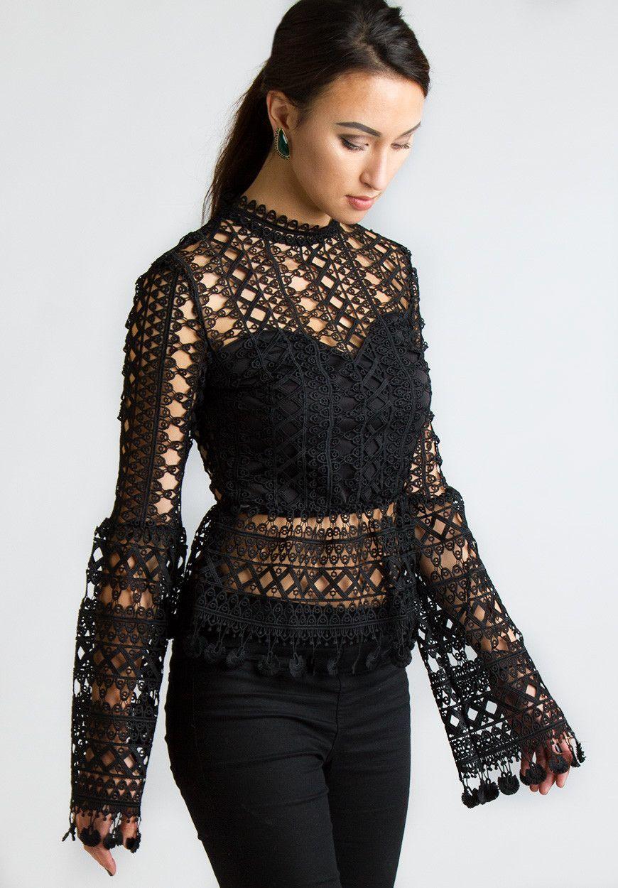 kleding met kant