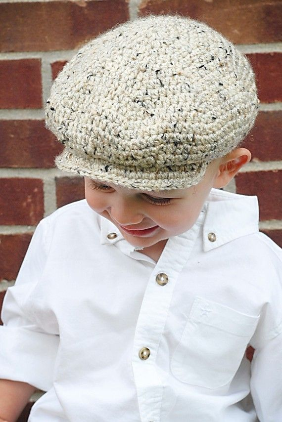 Scally Cap Crochet Hat Pattern *Instant Download* (Permission to ...