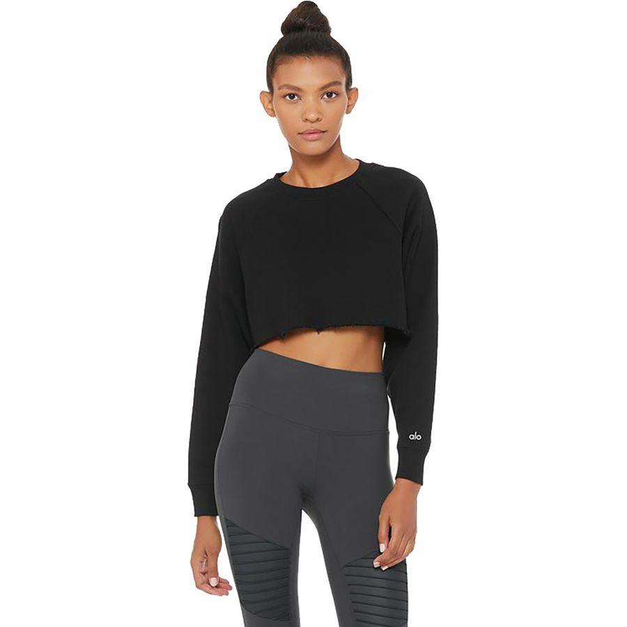 ALO YOGA Double Take Pullover Sweatshirt Women's