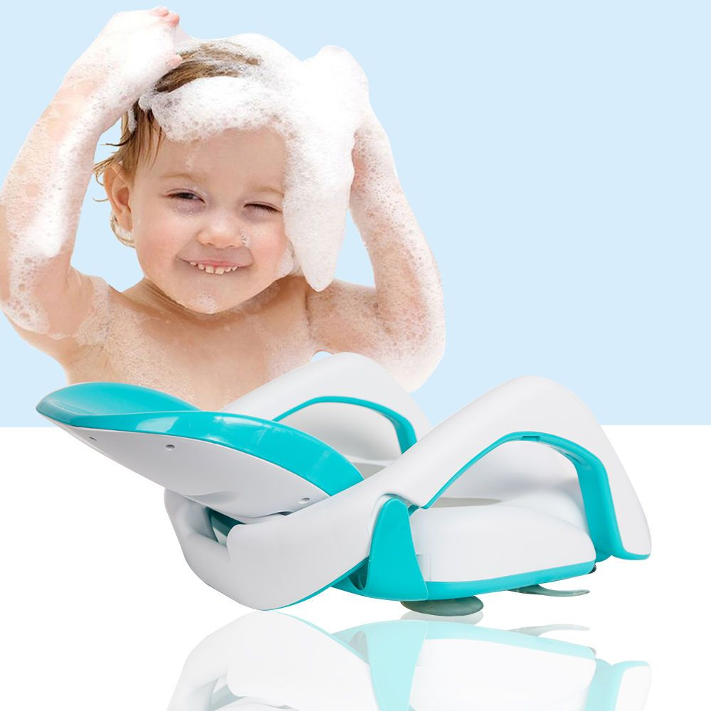 2 In 1 Foldable Baby Bath Chair Baby Perfect Match Partner Comfort ...