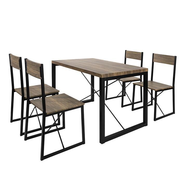 Set Tavolo da Pranzo con 4 sedie Tavolo e sedie Cucina ...