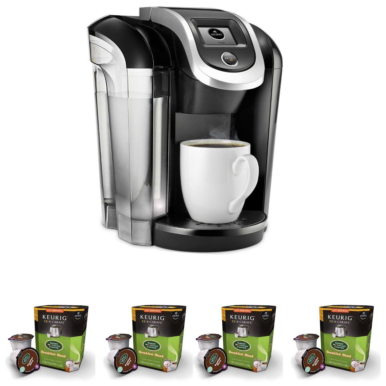 Keurig K475 Coffee Maker w/Breakfast Blend Coffee KCups