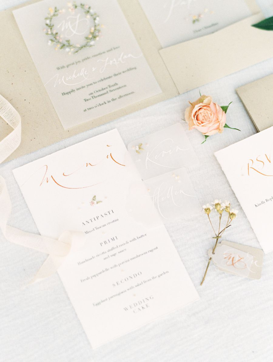 Intricate Delicate Unique Wedding Invitations And Stationery Photography Kristine Herman: Exquisite Tuscan Wedding Invitations At Websimilar.org