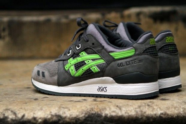 "more photos 967ed 74327 Ronnie Fieg x ASICS Gel Lyte III ""Super Green"" (not for sale ..."