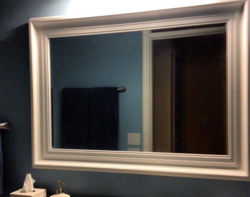 Frame Bathroom Mirror Ideas Top Bathroom Choose A Good Large Round Hanging Bathroom Mirror With E Large Bathroom Mirrors Bathroom Mirror Bathroom Mirror Frame