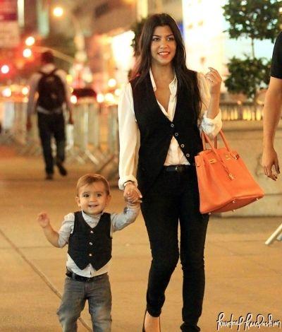 Mommy and Me Matching! | Kourtney Kardashian