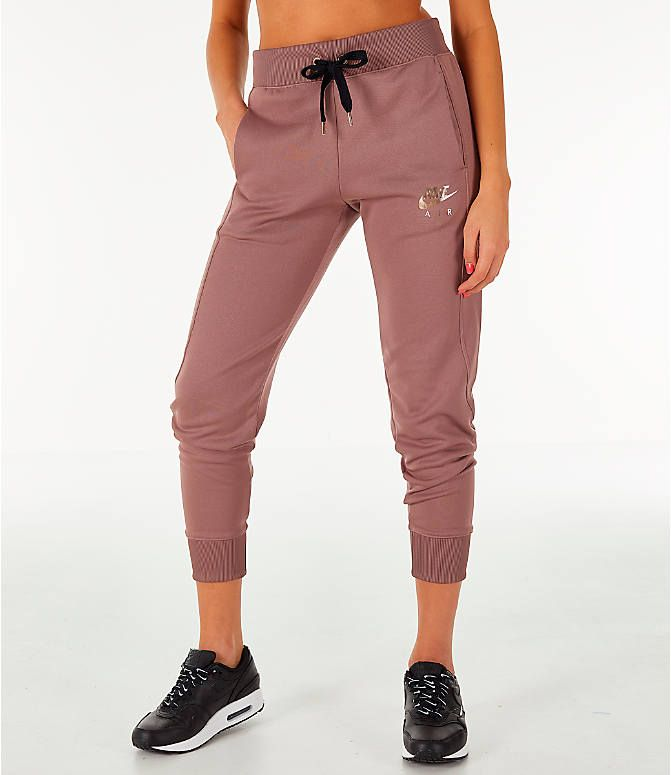 the latest b6c46 86cbe Front view of Women s Nike Sportswear Jogger Pants in Smokey Mauve Rose Gold