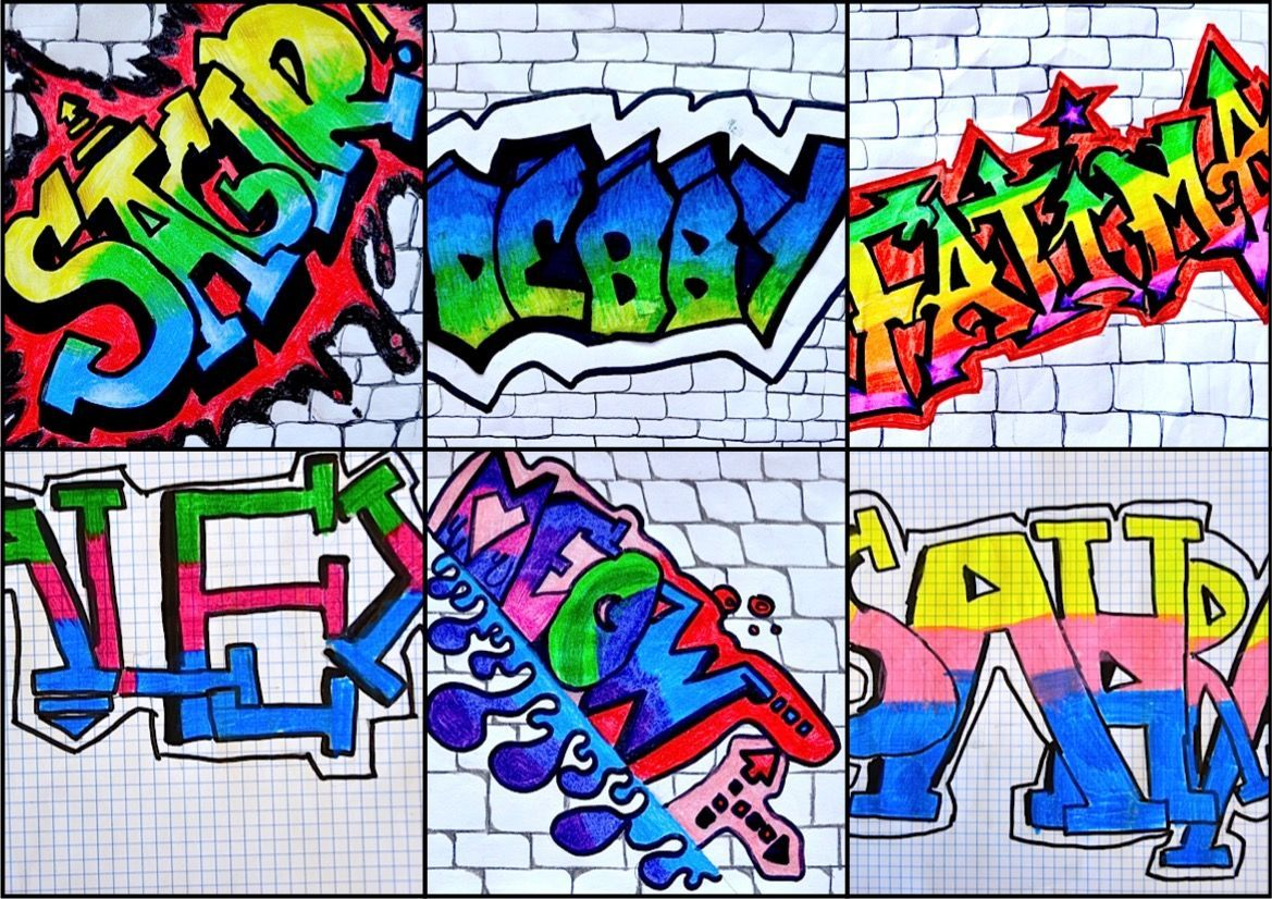 8th Grade Name In Graffiti Style With Example Art And