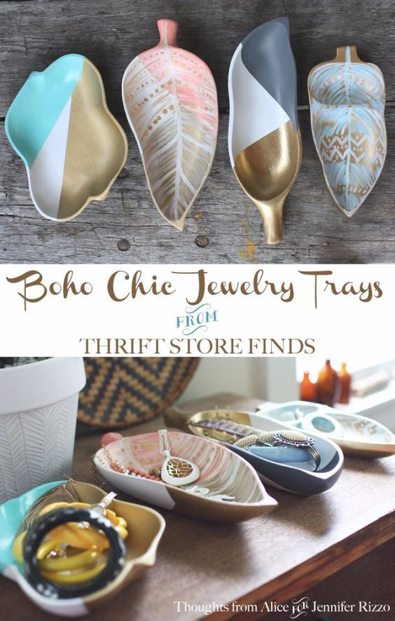 easy crafts to make and sell boho chic jewelry tray cool