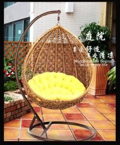 Amazing China Rattan Bird Nest Hanging Basket Hanging Chair Rattan Swing Chair  Indoor Balcony Single Rocking Chair