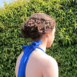 Hair I did for a junior prom.