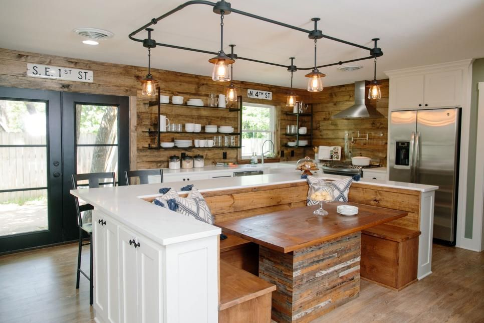 Chip And Joanna Add Warmth And Rustic Style To A Modern Ranch House,  Creating An