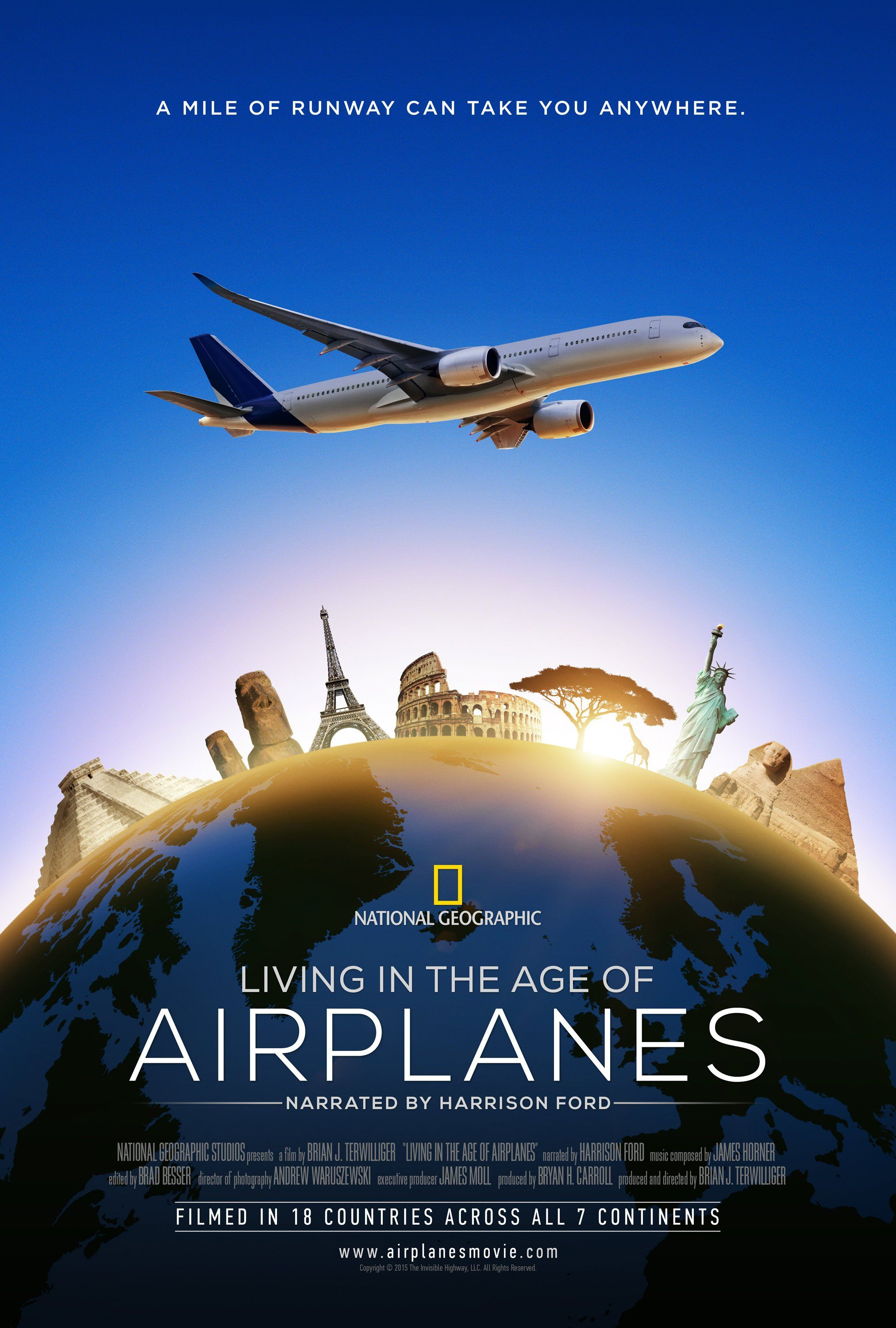 Living in the Age of Airplanes (2015) Film Poster