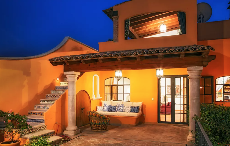 Terraza Casa Estilo Colonial En 2019 Casas Casas