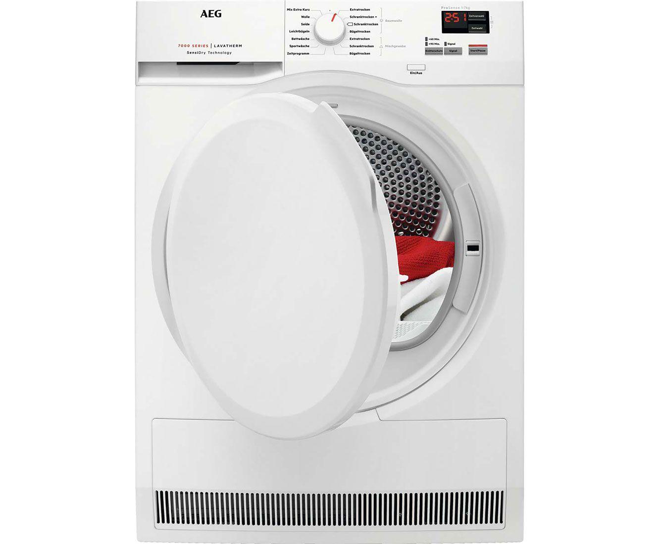 Aeg Lavatherm T7db40470 Warmepumpentrockner Weiss T7db40470 Waschm Warmepumpentrockner Waschmaschine Trockner Auf Waschmaschine