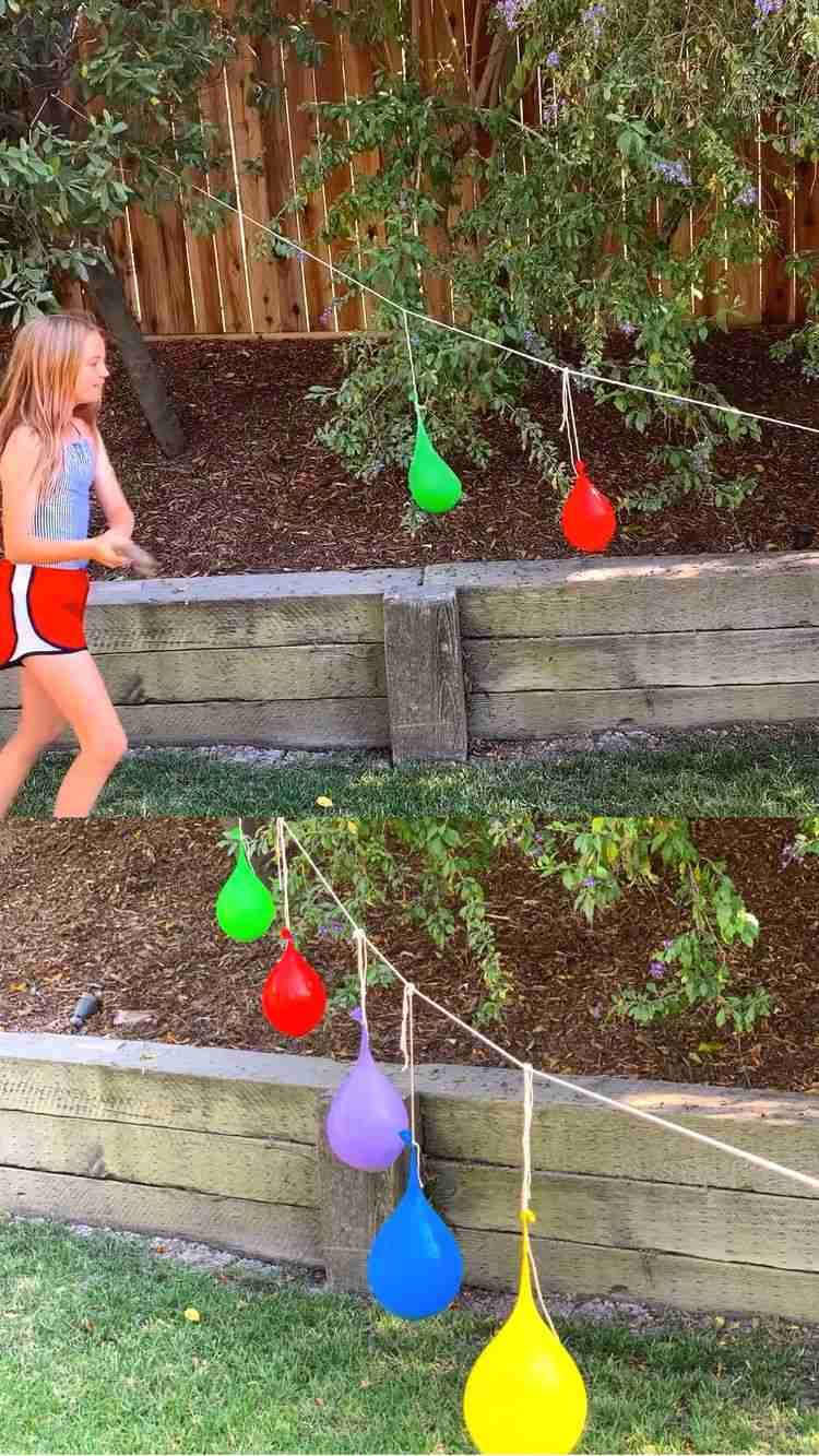 Water balloon piñata 💦🎈 | Water balloons, Water balloon
