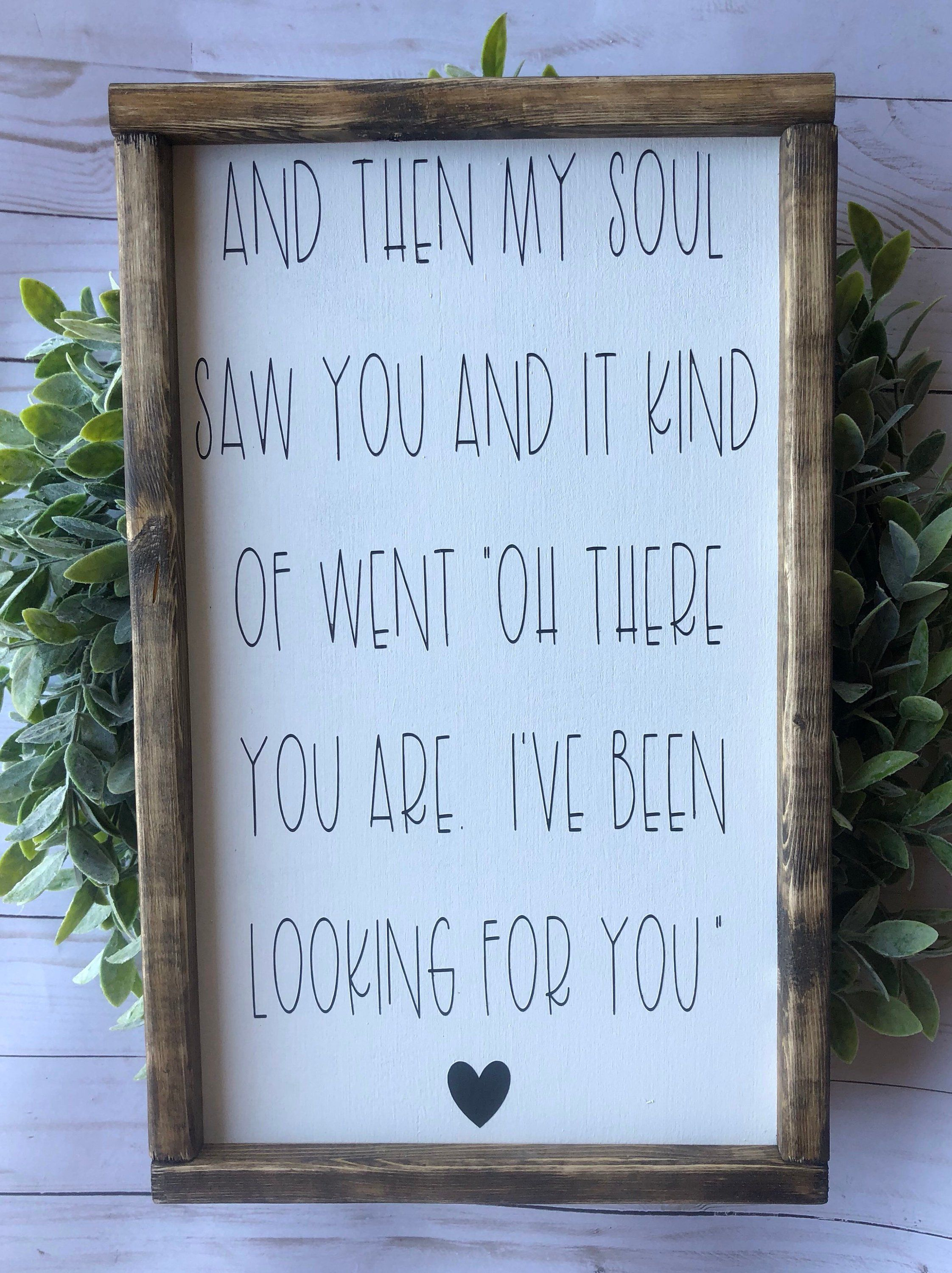 Photo of Signs With Quotes | Farmhouse Decor | Farmhouse Signs | Signs For Home | Wedding Decor | Master Bedroom Signs | Framed Wood Signs