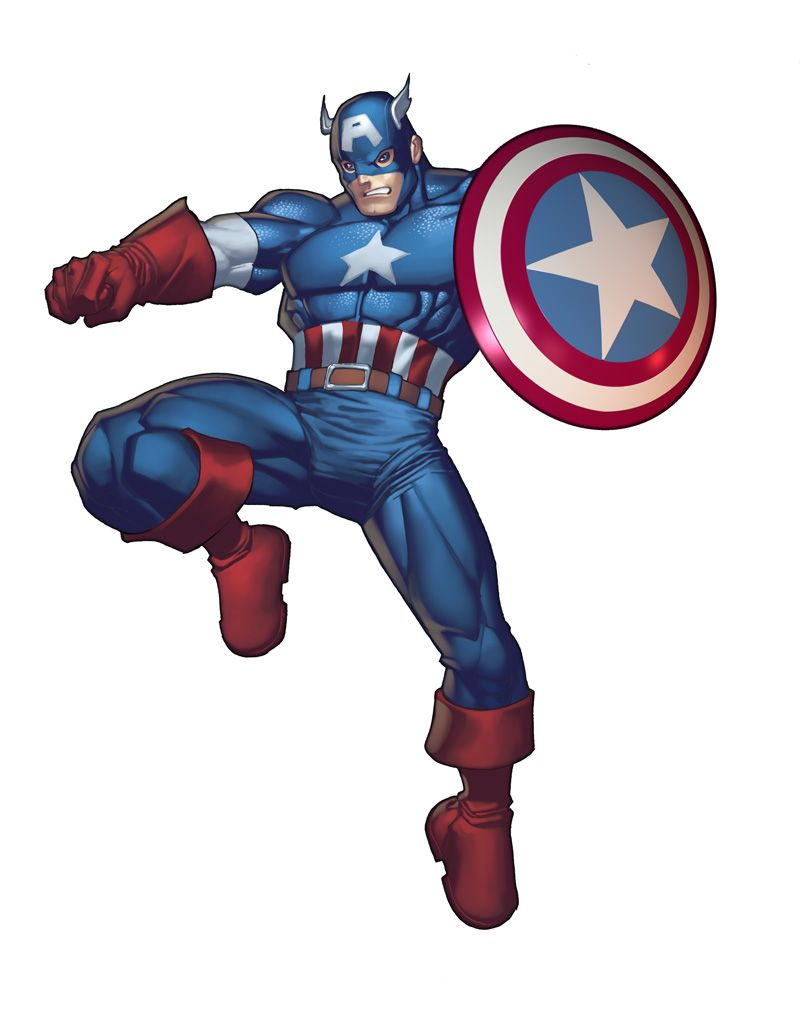 captain america cartoon - Free Large Images