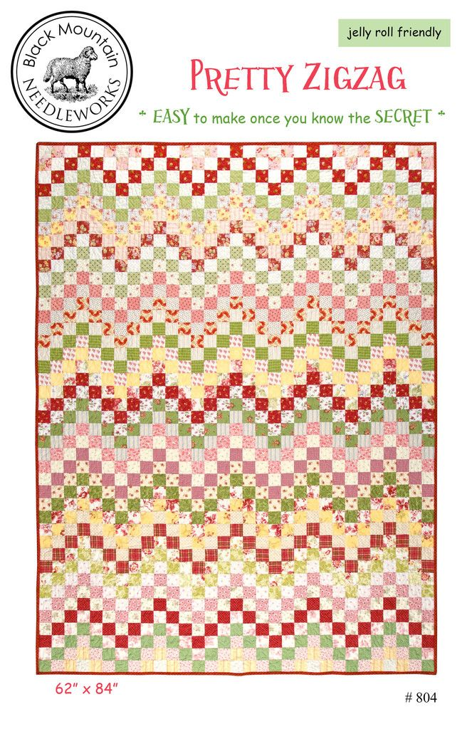 Pretty Zigzag Printed Pattern Quilt Patterns Pattern Paper Quilts