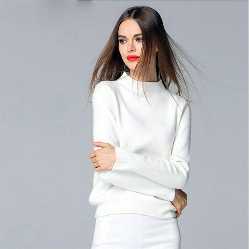뜨개질 스웨터 여성 새로운 패션 스웨터 터틀넥 니트 니트 스웨터 봄과 가을 느슨한 점퍼 여성